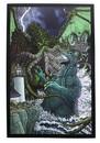Nerd Block NBK-GDZLAART-C Godzilla Versus Cthulhu 7