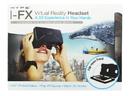 Nerd Block NBK-HY-VRX-BLK-C Hype I-FX Virtual Reality Headset