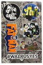 Nerd Block NBK-JYSLTSTCK-C Jay and Silent Bob Sticker Sheet