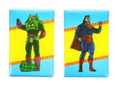 Nerd Block NBK-LEXMAG-C DC Comics Magnet Set: Superman and Lex Luthor