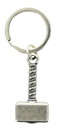 Nerd Block NBK-NB8737-C Marvel Thor Hammer Metal Key Chain