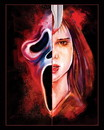Scream 8x10 by Matthew Therrien Art Print (Signed Horror Block Exclusive)