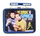 Nerd Block NBK-ST00246-C Star Trek: TOS Kirk & Spock Mini Tin Lunch Box