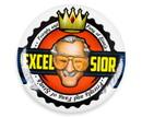 Nerd Block NBK-STLEEBTTN-C Stan Lee Excelsior Button Pin