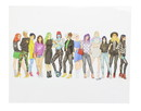 X-Women Street-Style 10x14 Art Print by Tomm Moken (Nerd Block Exclusive)