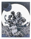 Star Wars Zombies 8x10 Art Print by Fredrik Eden (Nerd Block Exclusive)