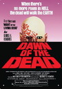 NMR Distribution NMR-30165-C Dawn of The Dead One Sheet Tin Sign