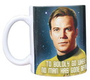 Star Trek Boldly Go Kirk 11oz Boxed Ceramic Mug