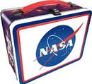 NMR Distribution NASA Logo Embossed Tin Lunch Box