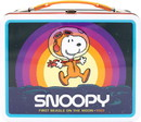 Peanuts Snoopy In Space Retro Style Tin Tote