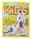 National Geographic National Geographic Kids Magazine: Real or Fake (April 2017)
