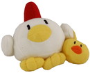 "Natsume NTS-00007-C Harvest Moon Island Of Happiness 10th Anniversary 6.5"" Plush: Chicken"