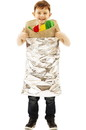 Orion Costumes Burrito Kid Pull Over Costume - One Size