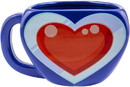 Paladone Products PLD-PP4928NNTX-C The Legend Of Zelda Heart Container Scultped Ceramic Coffee Mug