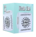 Tissue Time Wipe Out Coronavirus Novelty Toilet Paper, One Roll