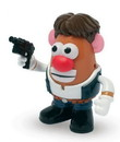 Promotional Partners Worldwide, LLC Star Wars Mr. Potato Head PopTater: Han Solo