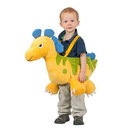 Princess Paradise Yellow Ride-In Dino Child Costume - One Size Fits Most