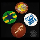 Quantum Mechanix QMX-FFY-0190-C Firefly/ Serenity Tin Coasters: Set of 4