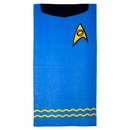 Robe Factory RBF-90295-C Star Trek TOS Beach Towel: Spock Blue
