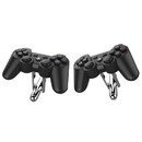 Rubber Road PlayStation PS3 Controller Cufflinks Black