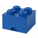 Room Copenhagen Lego Storage Brick 1 Drawer Bright Blue