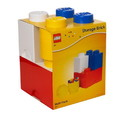 LEGO Storage Brick 4-Piece Set, Bright Red, Blue, Yellow and White