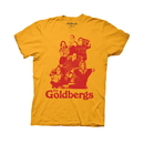 Ripple Junction The Goldbergs Cast Adult Yellow T-Shirt
