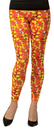 Rasta Imposta RSI-5063-SM Candy Corn Leggings Adult Costume Accessory