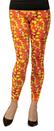 Rasta Imposta RSI-5063-SM Candy Corn Leggings Adult Costume Accessory