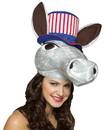 Rasta Imposta RSI-6027-C USA Political Donkey Hat