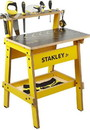 Red Tool Box RTB-WB002-SY-C Stanley Jr. Wood Work Bench, Real Tools For Kids
