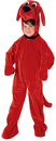 Rubie's RUB-10690TD Clifford The Big Red Dog Jumpsuit Toddler Costume