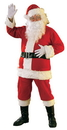 Rubie's RUB-23310ST Deluxe Flannel Santa Suit Adult Costume
