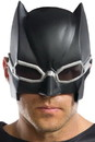 Rubie's RUB-34588-C Justice League Batman Adult Costume Tactical 1/2 Mask