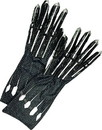 Rubie's Marvel Black Panther Adult Deluxe Costume Gloves - Black - One Size