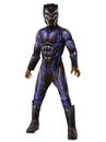 Rubie's Marvel Black Panther Movie Deluxe Black Panther Child Costume - Large
