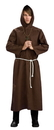 Rubie's RUB-889688XL Brown Monk Robe Costume Adult