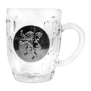 SD Toys Game of Thrones House Lannister Crystal Stein | Unique Drinking Glass | 16 Oz.