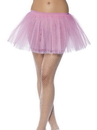 Smiffys Tutu Pink Adult Costume Underskirt One Size