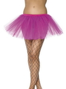 Smiffys Tutu Hot Pink Adult Costume Underskirt One Size