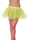 Smiffys Tutu Neon Yellow Adult Costume Underskirt One Size