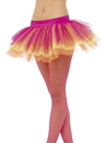 Smiffys Tutu Neon Multi-Colored Adult Costume Underskirt One Size