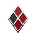 SalesOne SOI-BOPHARQPIN01-C Birds of Prey Harley Quinn Diamond Logo Enamel Collector Pin