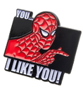 SalesOne Marvel Spider-Man 60s Show I Like You Enamel Collector Pin