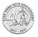 SalesOne International SOI-SW40THPIN02-C Star Wars 40th Anniversary Limited Edition Pin