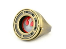 SalesOne International Star Wars The Last Jedi Rose Tico's Prop Replica Resistance Ring with Shutter
