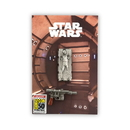 SalesOne International Star Wars Exclusive Han Solo Carbonite & Blaster Metal Pin Set