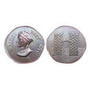 Shire Post Mint Game of Thrones Coin Replica: Walder Frey Copper Penny