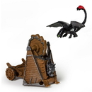 Spin Master SPN-20064840-C How To Train Your Dragon 2 Figure Battle Pack: Toothless vs Drago War Machine