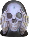 Scary Peepers SPS-79380-C Scary Peeper Reaper Window Cling Halloween Decoration